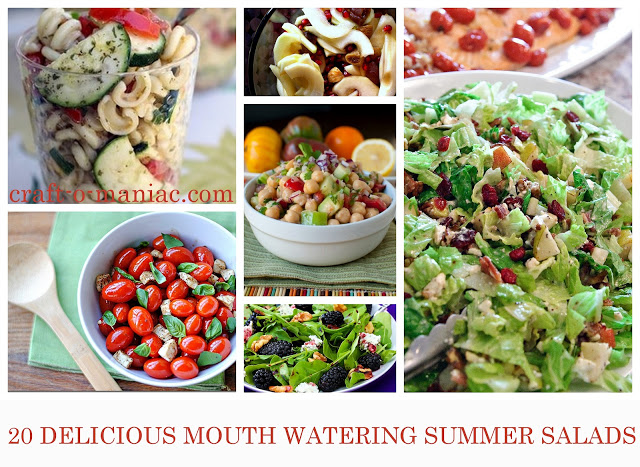 20 Mouth Watering Summer Salads