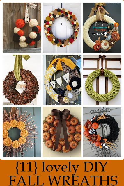 11 Lovely Fall Wreath's