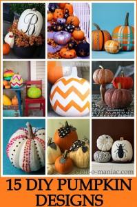 15 DIY Pumpkin Designs