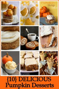 10 Delicious Pumpkin Desserts