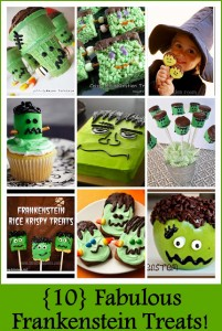 10 Fabulous Frankenstein Treats