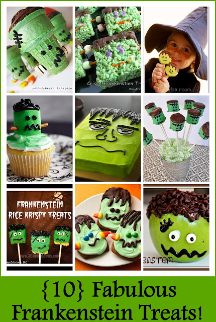 10 Fabulous Frankenstein Treats