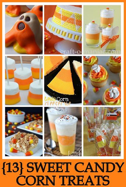 13 Candy Corn Treats