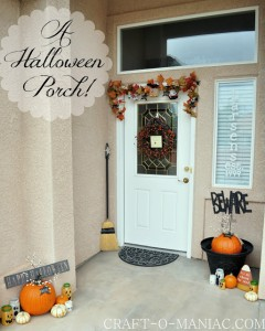A Halloween Porch