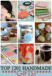 Top 20 Handmade Gifts