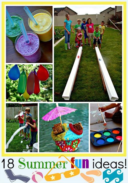 18 Summer Fun Ideas