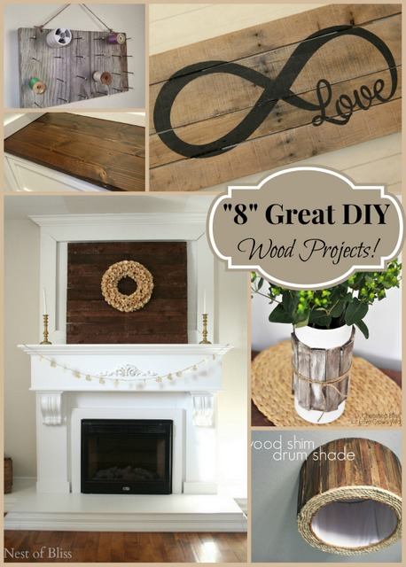 """""""8"""" Great DIY Wood Projects!"""