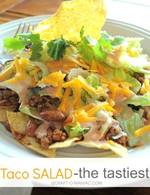 Taco Salad – The Tastiest One!