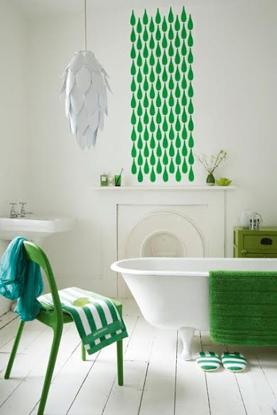 Top Stenciling Tips for the Bathroom