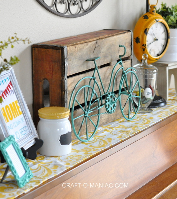 Home Decor With Whimsical Bicycle'srhcraftomaniac: Bicycle Decor For Home At Home Improvement Advice