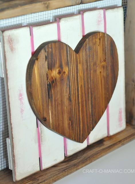 Diy Rustic Heart Gate Craft O Maniac
