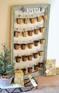 Rustic Advent Christmas Calender