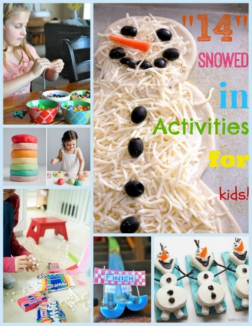"""""""14"""" Snowed In Activities for Kids"""