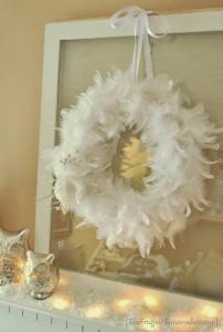 7 DIY Christmas Boa Wreaths