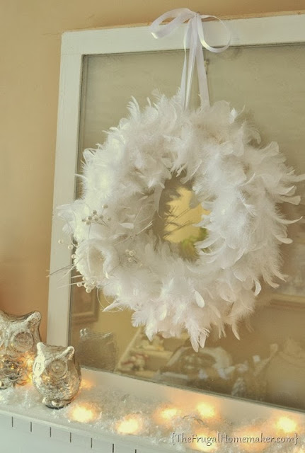 7 DIY Christmas Boa Wreaths