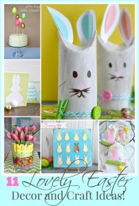 11 Lovely Easter Decor and Craft Ideas