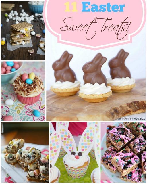 11 Easter Sweet Treats!