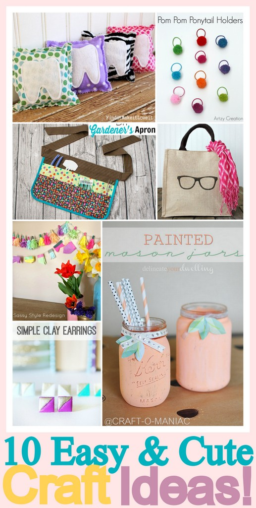 10 Easy and Cute Craft Ideas!