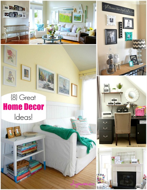 8 great home decor ideas for Great home decor ideas