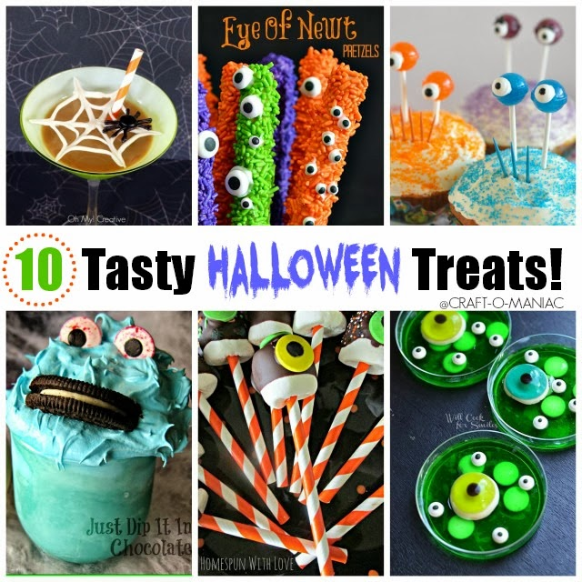 10 Tasty Halloween Treats