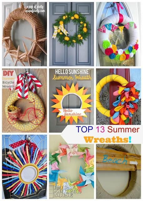Top 13 Summer Wreaths
