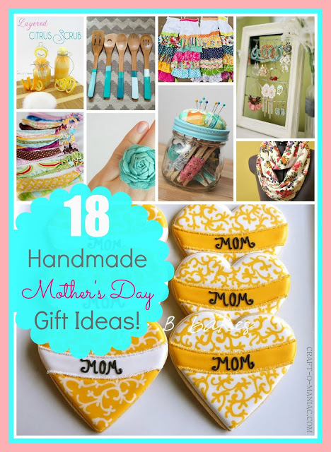 18 Handmade Mother's Day Gifts