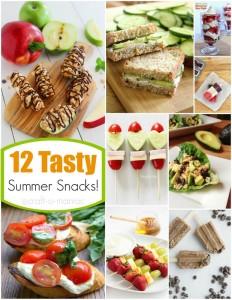 12 Tasty Summer Snacks