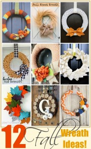 12 Fall Wreath Ideas!