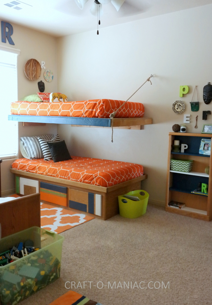 Boys Colorful African Aztec Bedroom