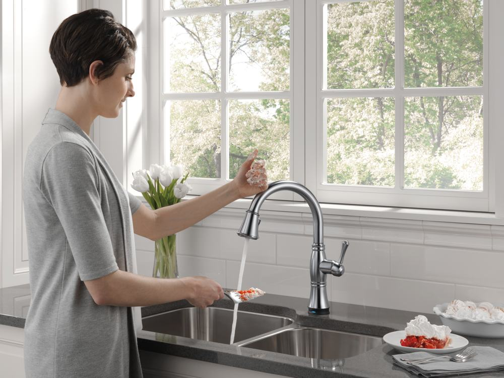 delta faucet woman touch - Craft-O-Maniac