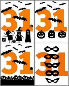 Free Happy Halloween Printable's
