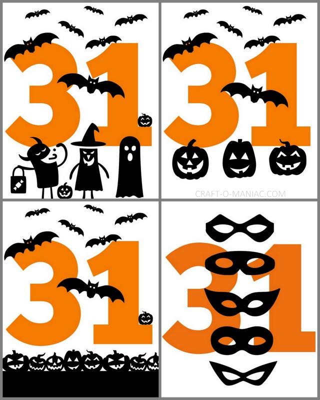 Free Happy Halloween Printable's