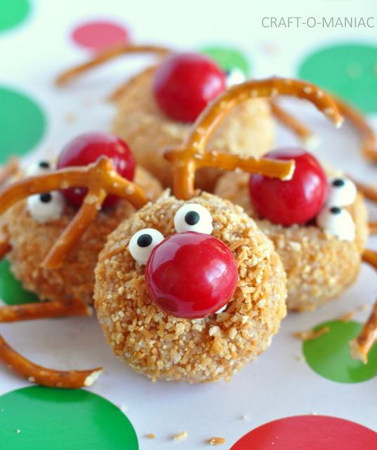 Rudolph Donut Holes