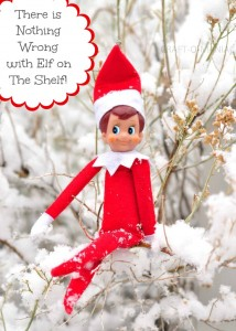 There is nothing wrong with Elf on the Shelf