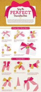 DIY Different Styled Gift Wrapped Bows!