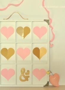 Valentine Heart Specimen Art
