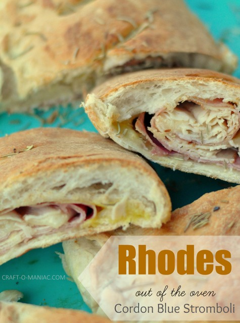 Rhodes Cordon Bleu Stromboli