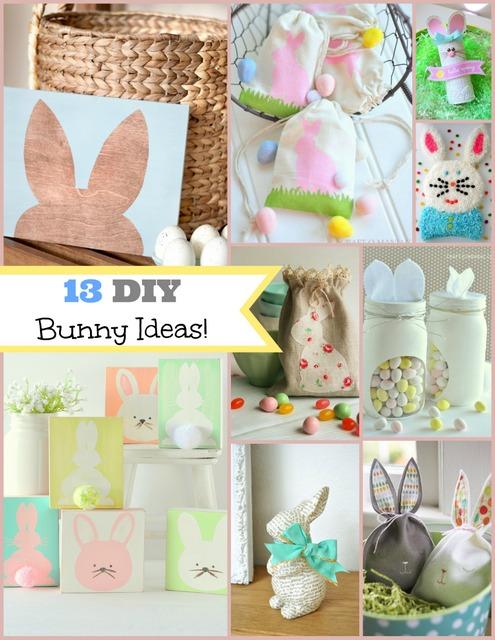 13 DIY Bunny Ideas!