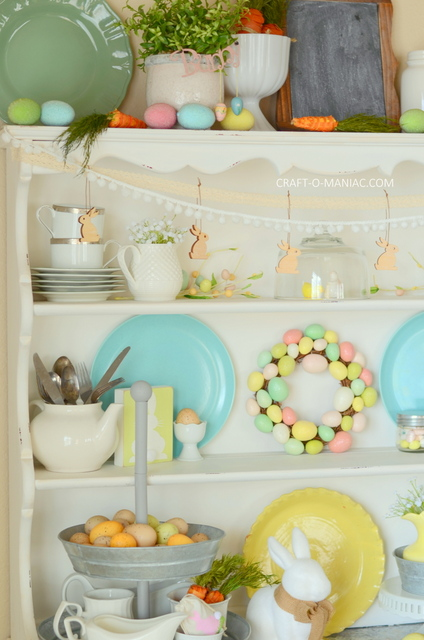 Pastel Easter Hutch