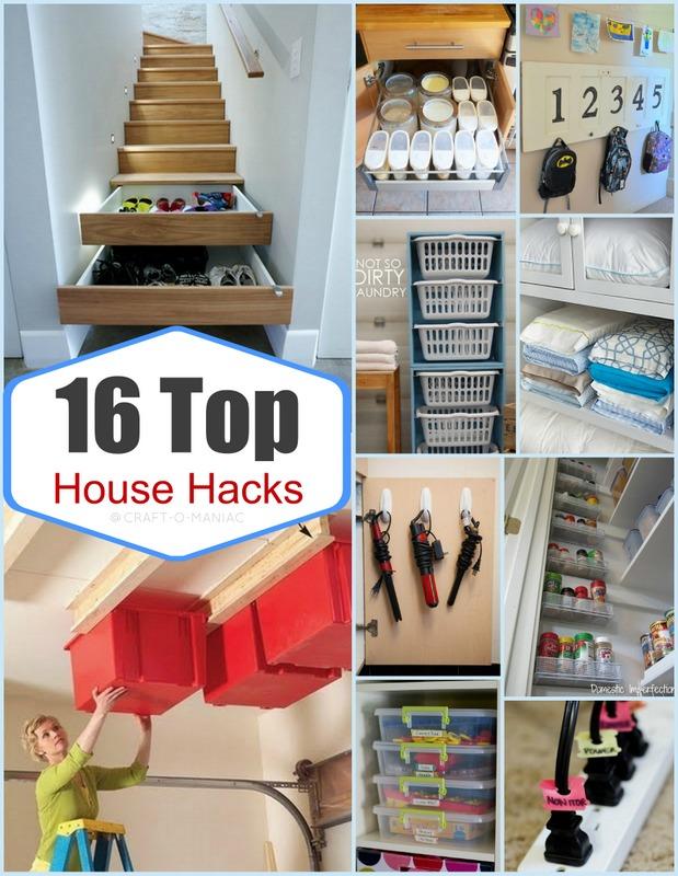 Top 16 House Hacks