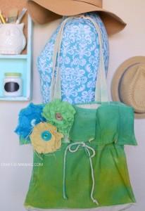 DIY Tie Dye Tote Bag
