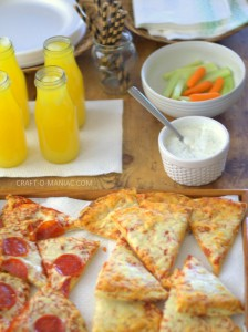 Pizza PJ Party for Kids