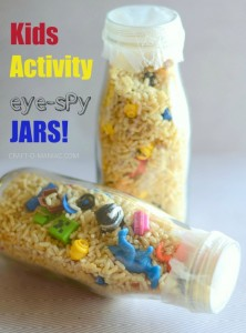 Kids Activity Eye Spy Jars