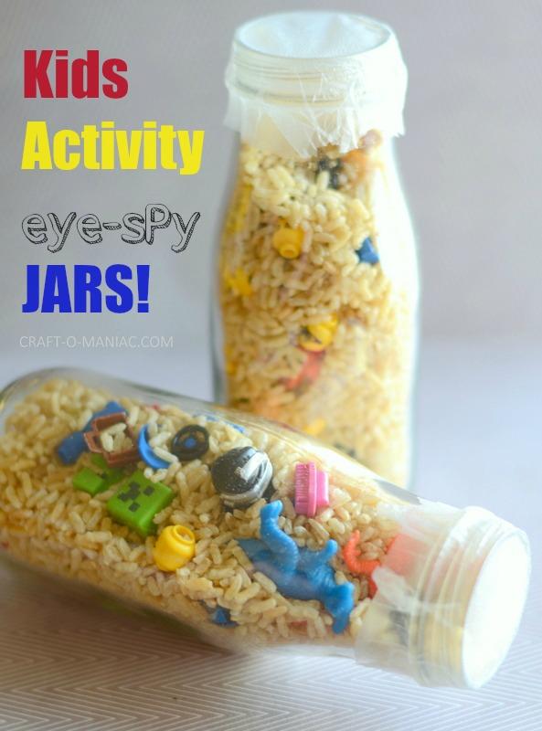 DIY Kids Eye Spy Jars