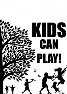 Kids Can and Can't Play Door Printables
