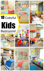 10 Colorful Kids Bedrooms