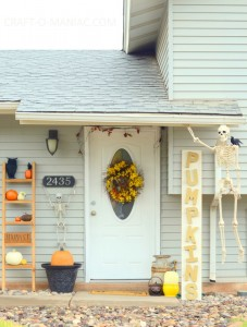 Fall & Halloween Porch Decor
