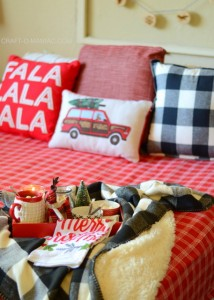 Cozy Plaid Christmas Bedding
