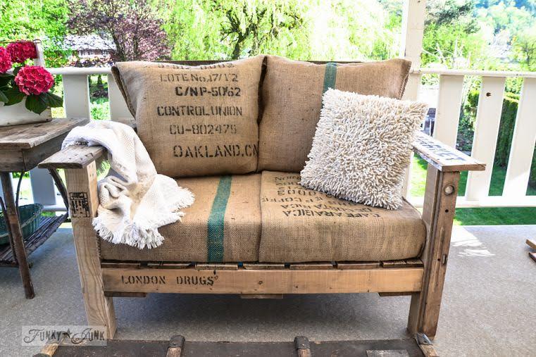 Backyard Deck Diy Pallet Chairs Craft O Maniac