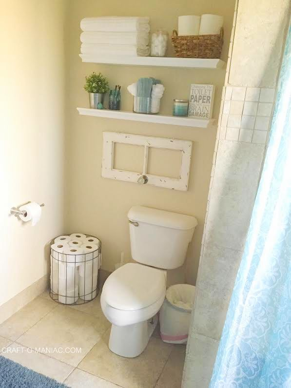 How to Make a Tiny Bathroom Feel Larger